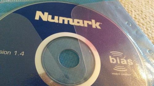 oferta cd original software numark usb turntable