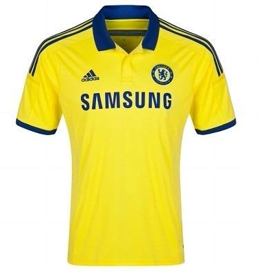 46e4638a5 oferta  Chelsea Camiseta Suplente Amarilla 2015 Original -   1.646 ...
