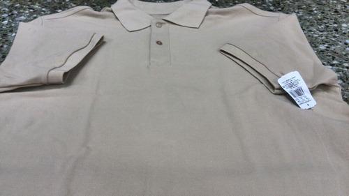 oferta chemise colegial beige ovejita talla xl