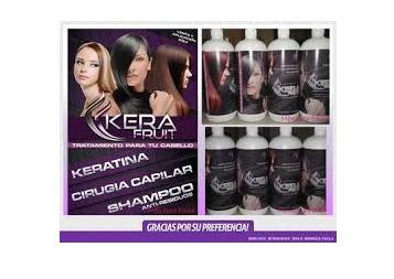 oferta!!! cirugía plástica capilar kerafruit 1lts