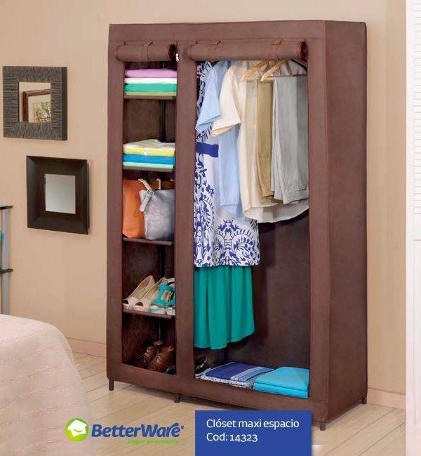Oferta closet portatil econ mico armable ropero for Closet armables economicos