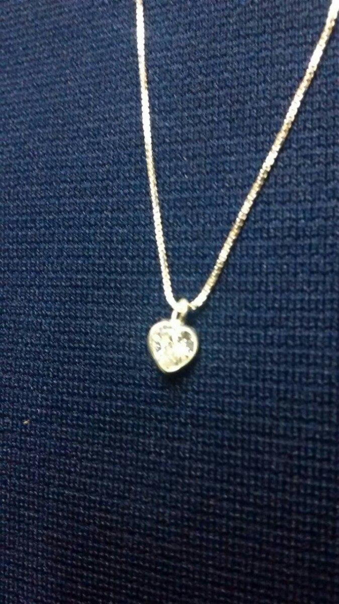 e9b0f9359f26c oferta colar em prata 925 pingente pingo de luz. Carregando zoom.