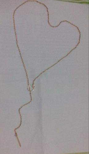 oferta colar feminino folheado a ouro
