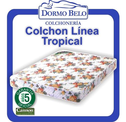 oferta! colchon cannon tropical 80 x1,9 18cm 1plaza