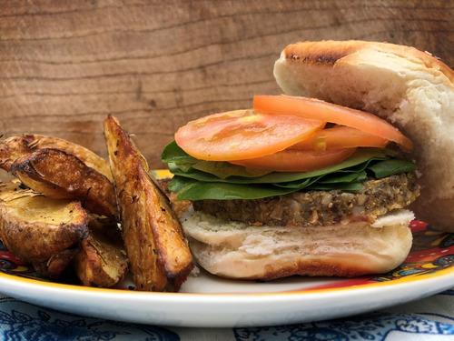 oferta! combo 5 paquetes hamburguesas veganas sin gluten