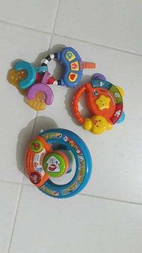 oferta combo de juguetes de bebe vtech perfecto estado