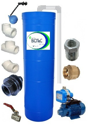 oferta combo tanques de agua cilindrico 520ltrs presscontrol
