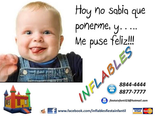 oferta con inflable