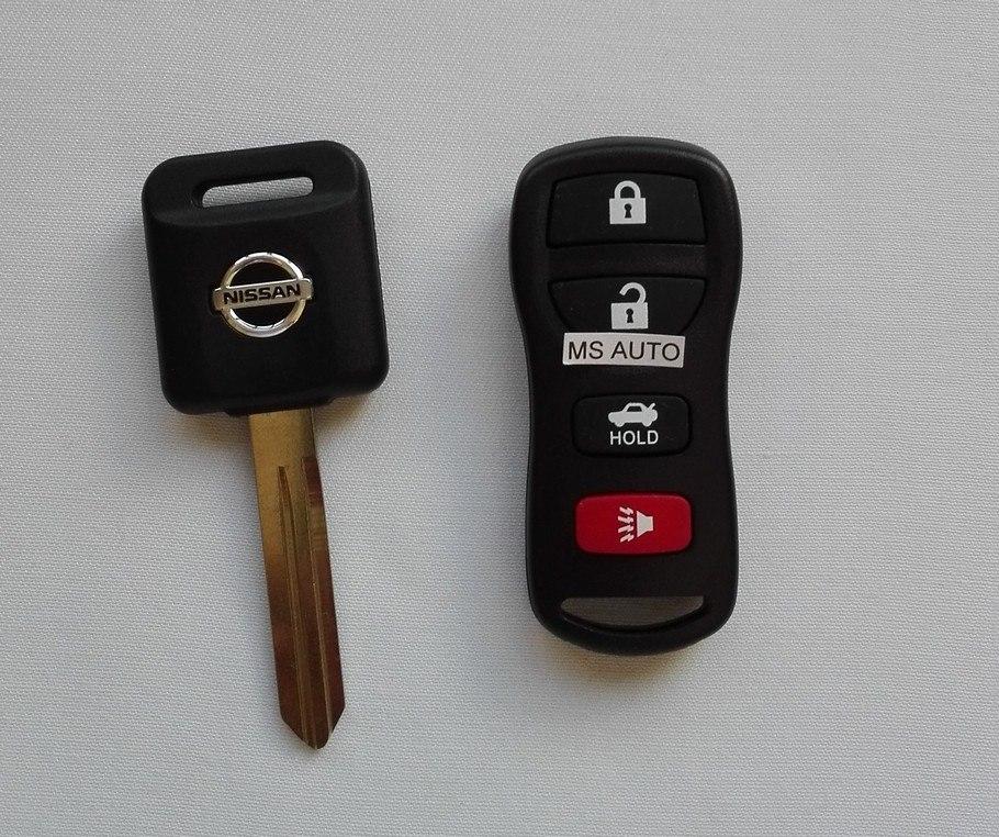Oferta Control Alarma Y Llave Nissan Tiida Sentra Altima