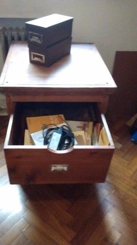 oferta! cool! mueble grande  de oficina cedro vintage