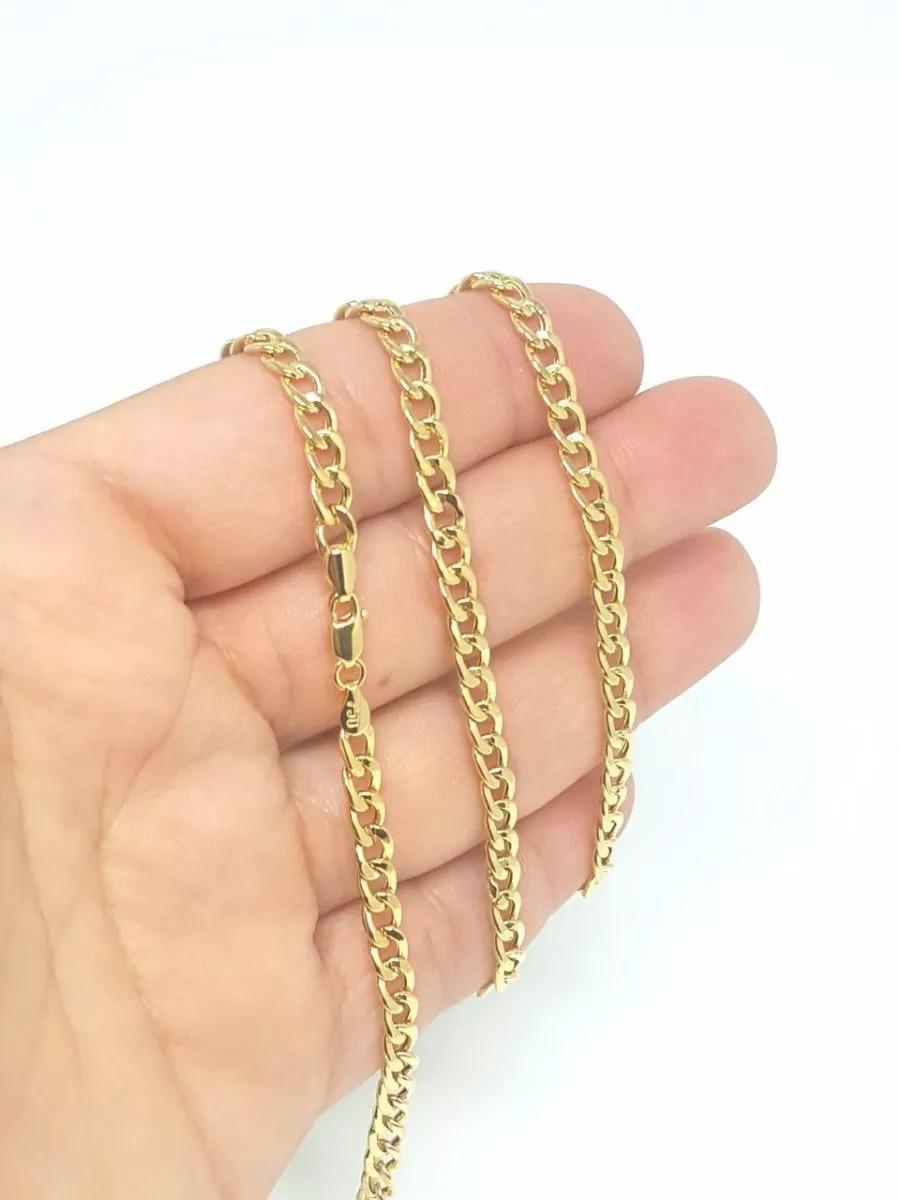 e37831eb62a96 oferta corrente cordão ouro 18k 750 masculina grumet 60cm. Carregando zoom.