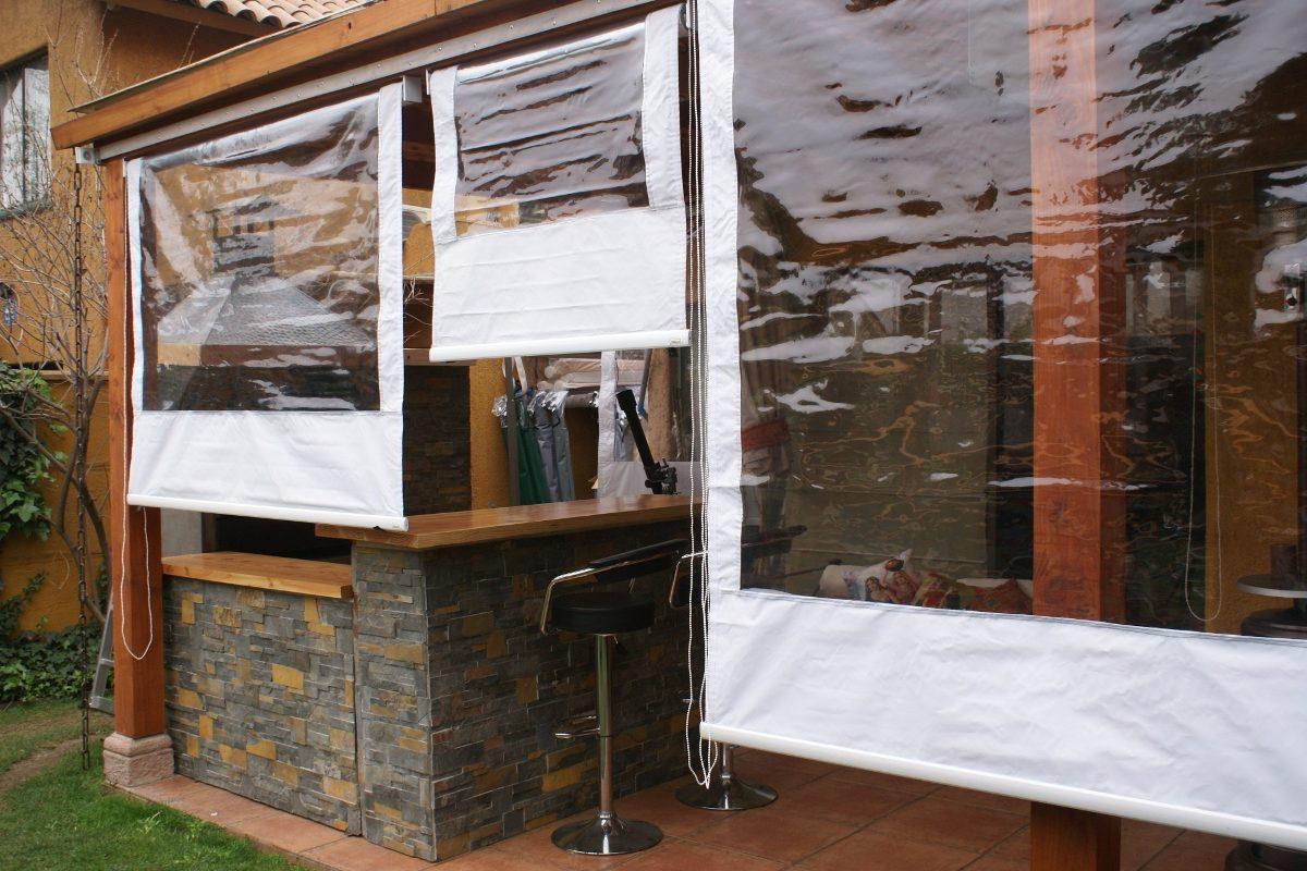 Oferta cortinas pvc roller para terraza entrega inmediata - Cierres de aluminio para terrazas ...