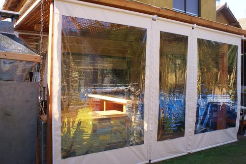 oferta cortinas pvc roller para terraza, entrega inmediata
