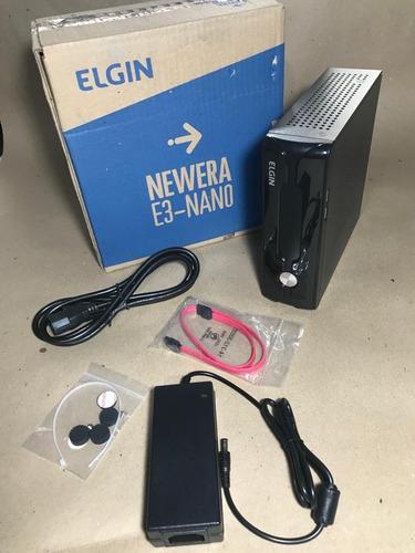 oferta* cpu elgin newera e3 nano j1800, 2,41ghz 500gb, 4gb h