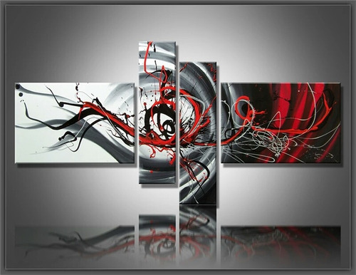 oferta cuadros abstractos decorativo 1.65x80cms.envio gratis