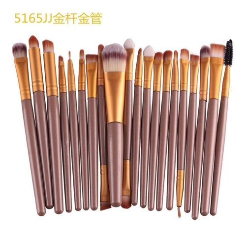 Set de 24 Brochas moradas brillosa - Joi Boutique
