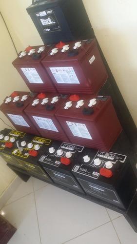 oferta de baterías para inversores * trojan t-105 *