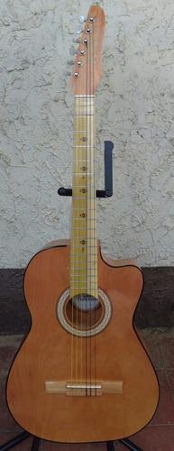 oferta de guitarras rockeras 100% de paracho con funda/
