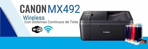 oferta de impresoras con sistema continuo de tintas