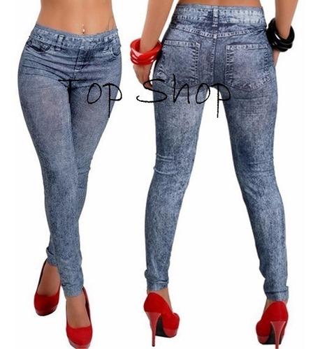 oferta de leggins jeans importado marca brenda usa pantalon