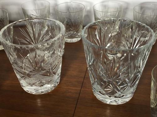 oferta de locos!!!! jgo completo vasos wiscky/2 hieleras)))