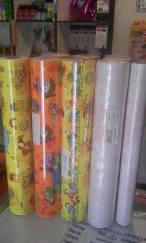 oferta de papel contac estampado disponible solo por rollo