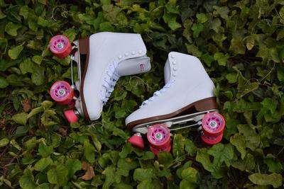 oferta de patines chicago roller modelo soy luna de cuero