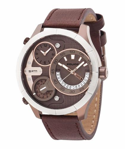 oferta de reloj police hombre multi-tiempo pl.14638xsbzs/12
