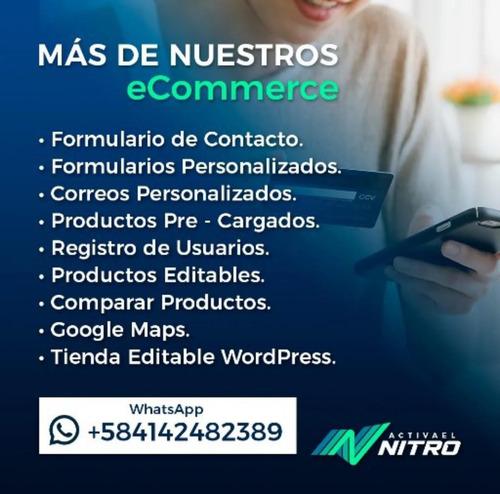 oferta diseño paginas web tienda virtual y carro de compra
