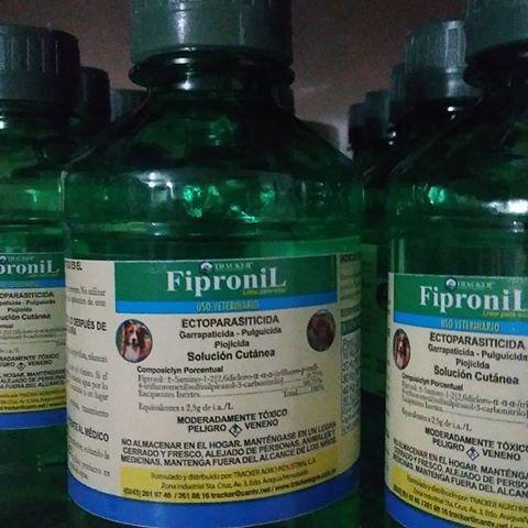 oferta elimina garrapatas y pulgas con fipronil 240 ml