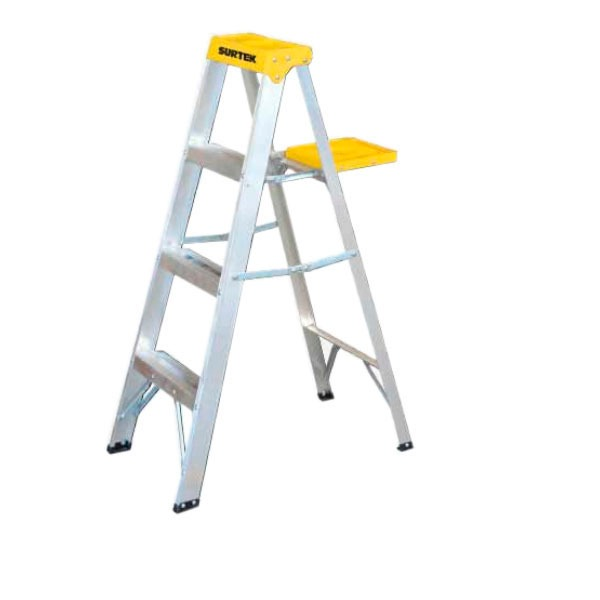 Oferta escalera aluminio 3 pelda os capacidad 90 kg et3 for Escalera aluminio 5 peldanos