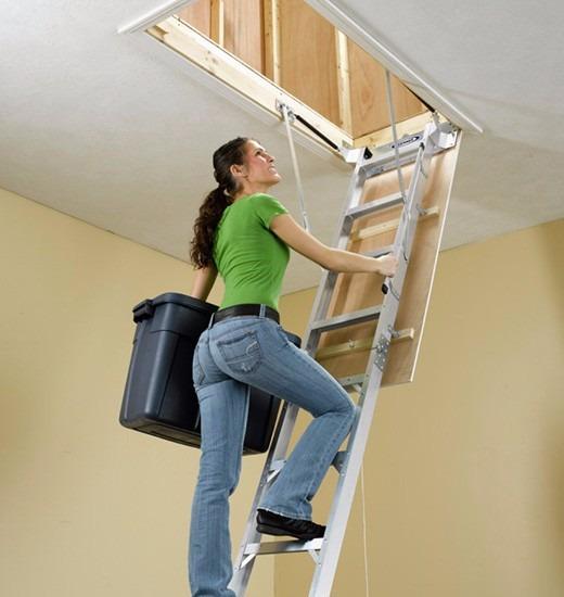 Oferta Escalera Rebatible Para Altillos De Aluminio!!!!!! - $ 13.150 ...