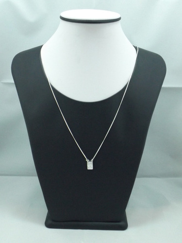 oferta escapulário feminino prata 925 porta jóias de brinde