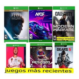 Oferta Escojes 2 Juegos Xbox One Entrega Inmediata