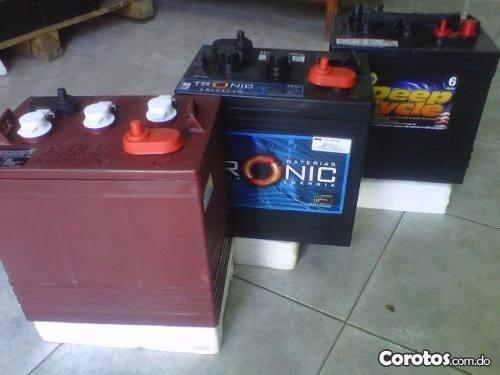 oferta especial en baterias de inversores (varios modelos)