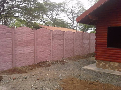 (oferta especial) tapia instalada columna y baldosa decorada