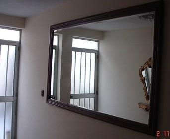 Oferta espejo grande madera cedro buen estado s 650 00 for Espejos en oferta