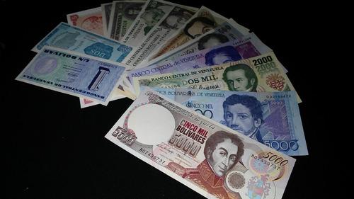 oferta. excelente set billetes antiguos. sin circular unc