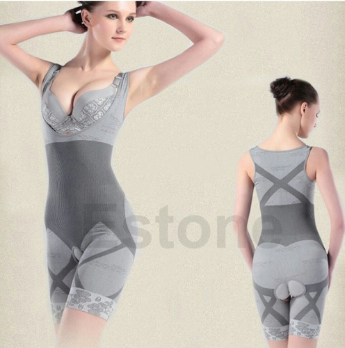 oferta faja corporal color gris talla l nueva
