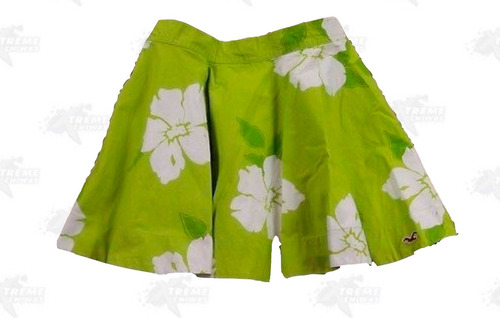 oferta falda hollister para mujer 100% original