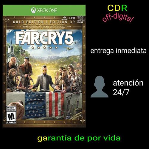 oferta farcry 5 'gold edition' xbox one offline