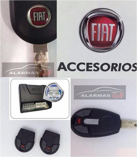 oferta fiat uno way- alarma original + lamina seguridad