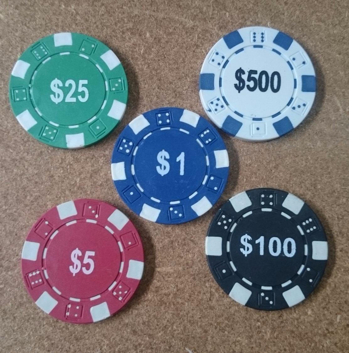 Cual es el valor de las fichas de poker chris keith procter and gamble