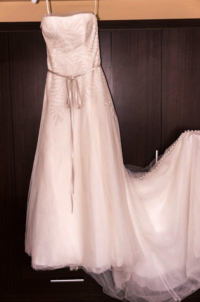 oferta final - vestido de novia whitevera wang exclusivo - s