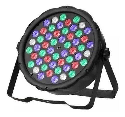 oferta! foco par led 54 dmx  brillo rgb disco fiesta luces