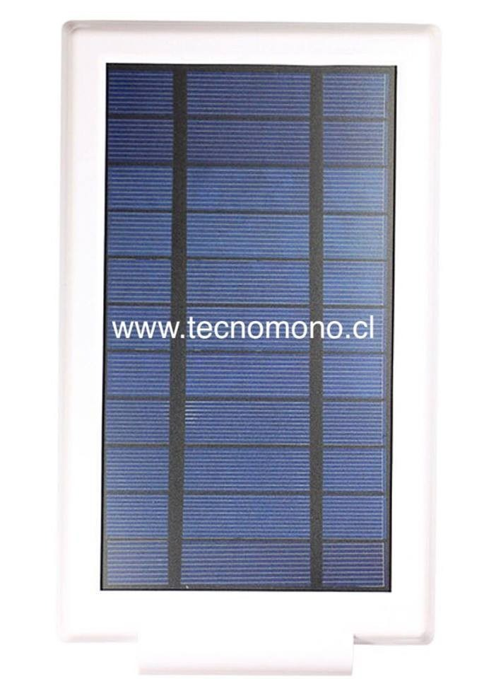Oferta foco solar led iluminaci n exterior max 24led facil - Iluminacion exterior led solar ...