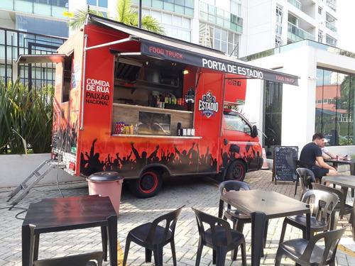oferta food truck completo em excelente estado d conservação