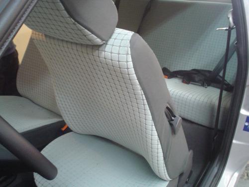 oferta!! funda asientos volkswagen amarok en tela a medida
