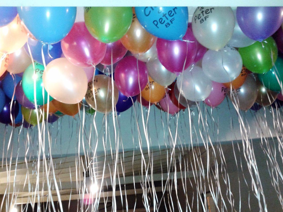 oferta globos gas helio x de eventos sueltas globelium