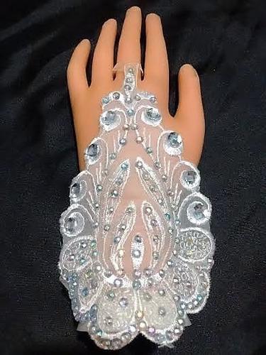 oferta guantes de novia de encaje